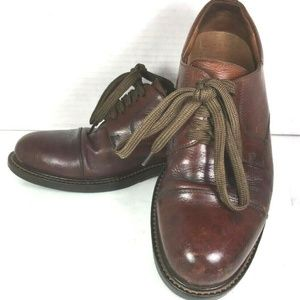 Johnston & Murphy Brown Leather Shoes–US 8.5 M